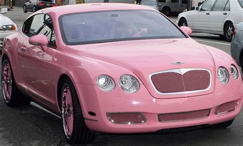 bentley car pink the automobile and american life think pink some pink