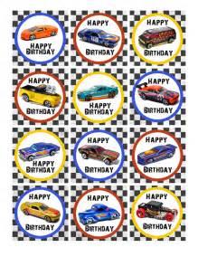wheels birthday party pack free printables