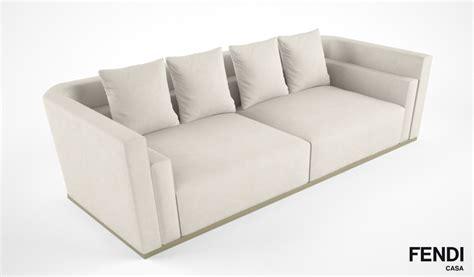 fendi sofa price fendi casa borromini sofa 3d model max obj fbx