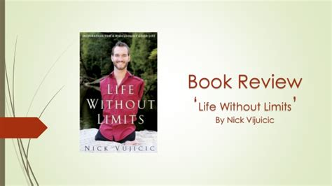 life without limits by nick vujicic reviews discussion book review life without limits