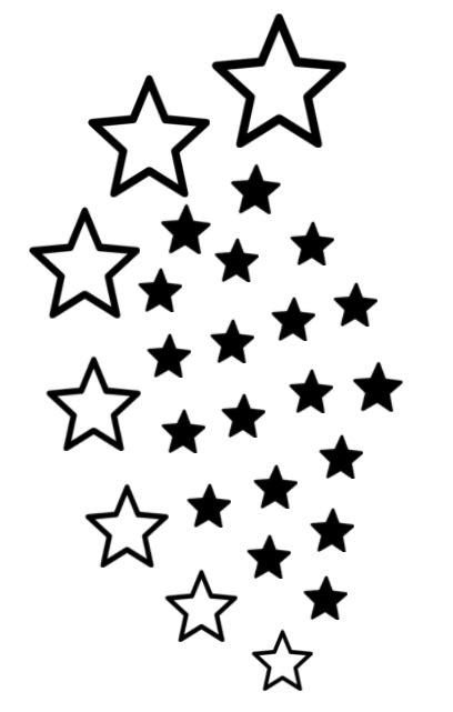 black star tattoo designs black designs clipart panda free clipart