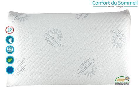 meilleurs oreillers acheter un oreiller ergonomique test avis comparatif