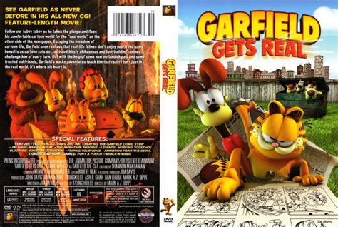 Gets An Cover by Garfield Gets Real Dvd Scanned Covers