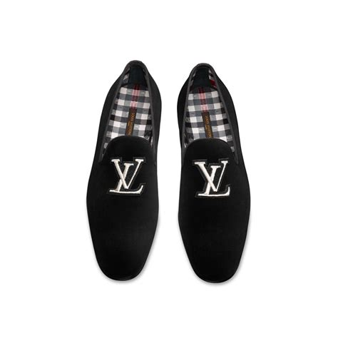 loafers louis vuitton louis vuitton all in loafer in black for lyst