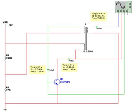 transistor based flyback driver the answer is 42 simple flyback driver