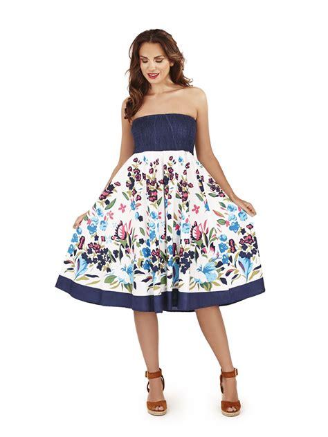 Dress Set 2in1 Dress Kalung womens knee length summer 2in1 cotton strapless dress ebay