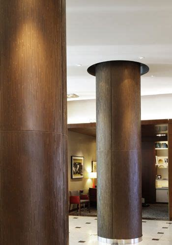 interior column wrap ideas interior column wraps intercontinental hotel design