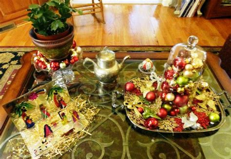 how to decorate a coffee table for christmas coffee table decorating ideas contemporary homescontemporary homes