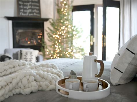 cozy christmas bedroom creating  hygge space jeanne