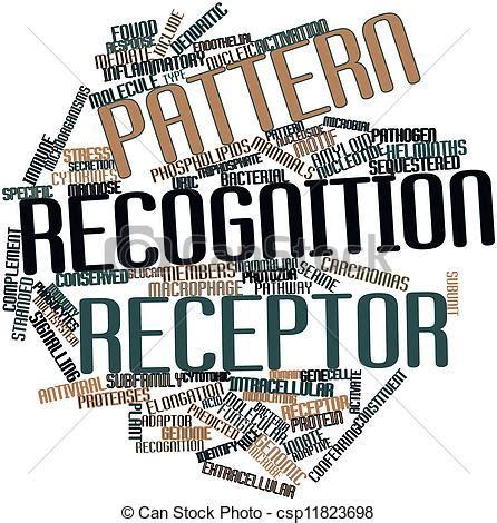 pattern recognition logos stock illustration of pattern recognition receptor