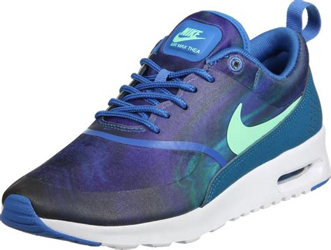 Nike Air Max Thea Lila by Nike Air Max Thea Print W Shoes Purple Blue Turquoise