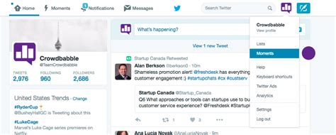 How To Find S Tweets How To Make A Moment 183 Offline Marketing News Resources