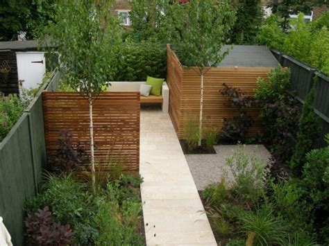 garden divider ideas run side fence to become divider garden