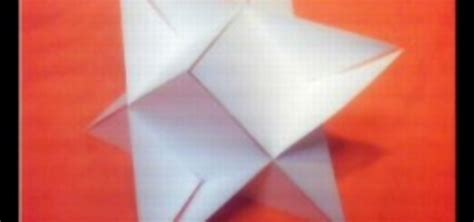 3d Triangle Origami - how to origami a 3d triangle 171 origami wonderhowto