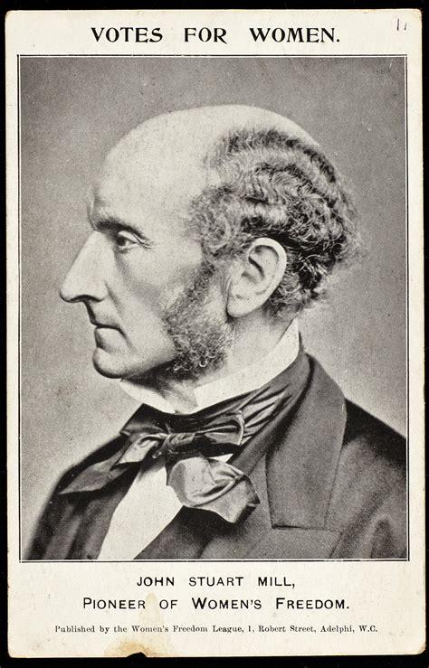 File Postcard Featuring John Stuart Mill C 1907