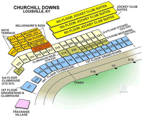churchill downs section 110 churchill downs seating chart covered seats picture and images
