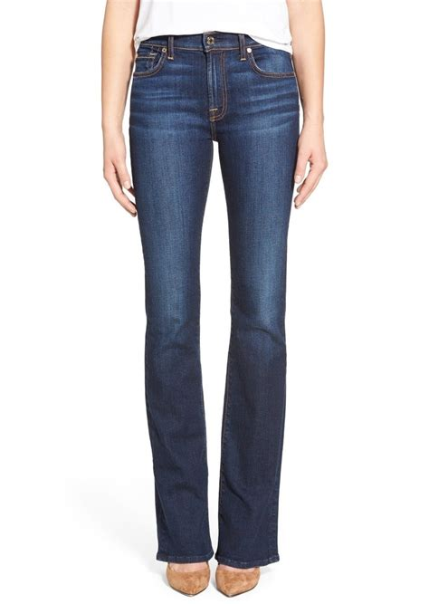 boot cut new york dark 7 for all mankind 7 for all mankind 174 tailorless bootcut