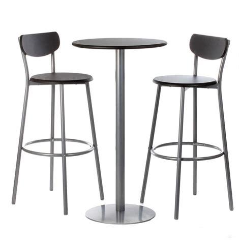 Charmant Ikea Chaise De Cuisine #1: ensemble-table-chaises-de-bar-thabo-noir.jpg