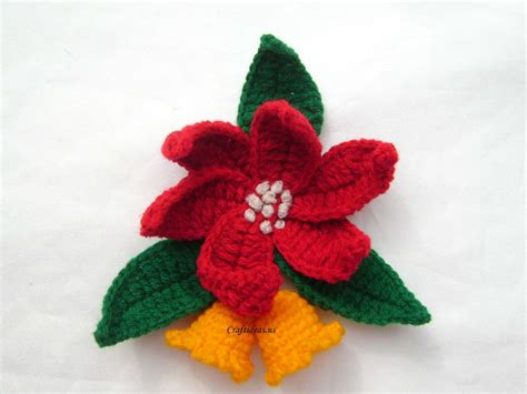 poinsettia craft projects craft ideas crochet poinsettias craft ideas