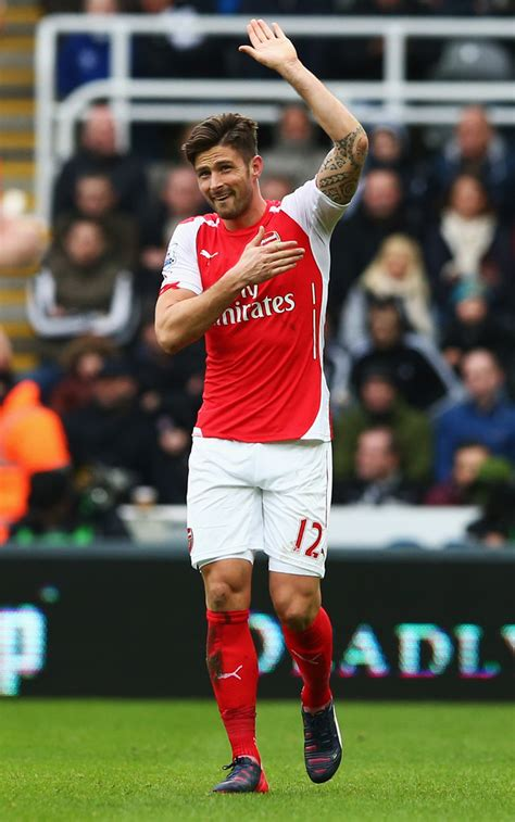 Kaos Epl Arsenal 7 olivier giroud photos photos newcastle united v arsenal premier league zimbio