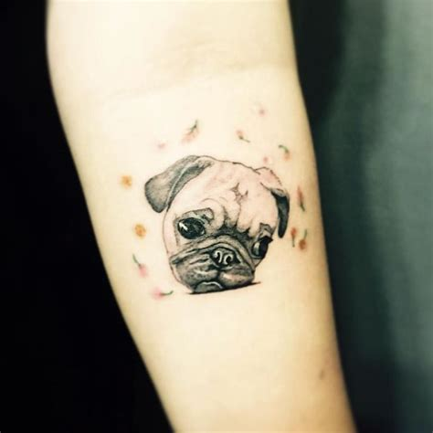 pug tattoos 29 best s day cards for images on