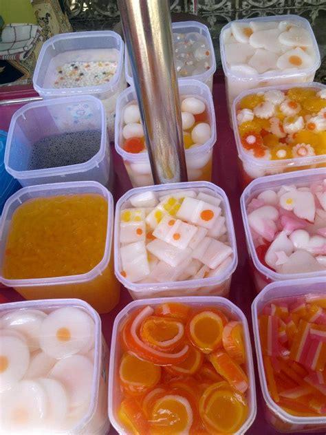 Sari Kelapa Utk Isian Minuman jual jelly distributor kolang kaling jelly motif sari kelapa rumput laut