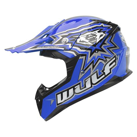 childs motocross helmet wulf cub flite xtra motocross helmet junior childrens