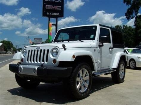 Jeep Wrangler 2012 Manual Find Used 2012 Jeep Wrangler Only 10 150