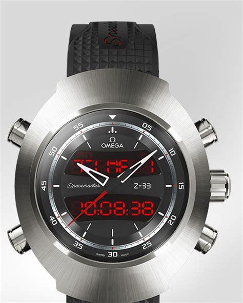omega watches speedmaster spacemaster z 33 titanium on