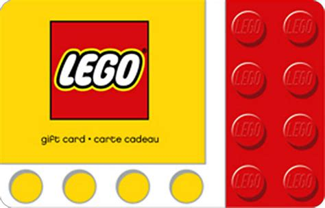 Give Prepaid Credit Card Gift - give gift card lego shop