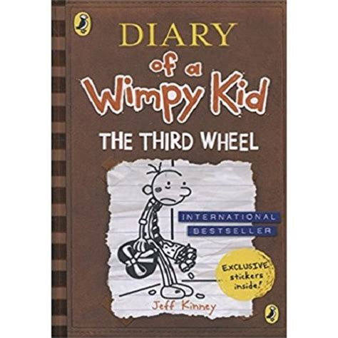 diary of a wimpy kid third wheel book report diary of a wimpy kid 7 the third wheel tarbiyah books