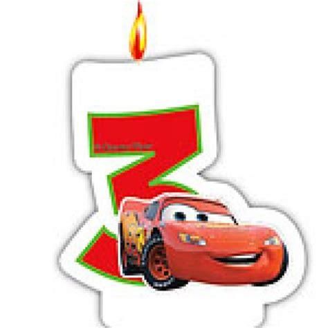 bougie cars 3 ans anniversaire enfants d 233 coration
