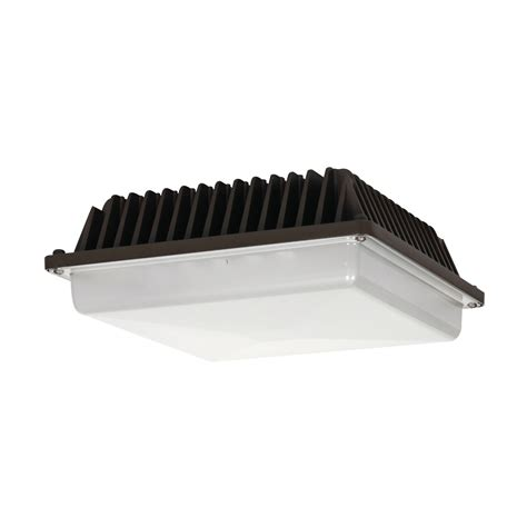 Led Canopy Light Fixtures Cascadia Commercial Lighting Cassml364al20500ma 20 Led Canopy Fixture Atg Stores