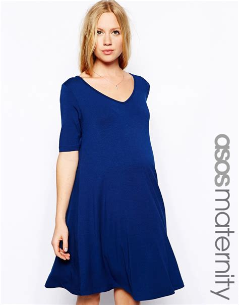 maternity swing dress asos maternity asos maternity swing dress with v neck