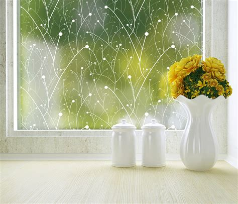 modern home decor items willow modern window film decorative film for