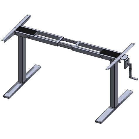 manual height adjustable desk manual ii rocky mountain desks