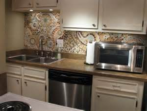 how to make a kitchen backsplash 16 wonderful mosaic kitchen backsplashes