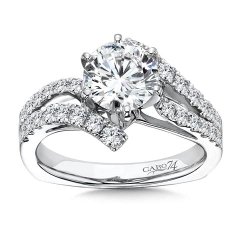 caro74 luxury collection criss cross engagement