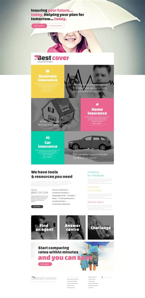 business landing page template business landing page template 54822 templates