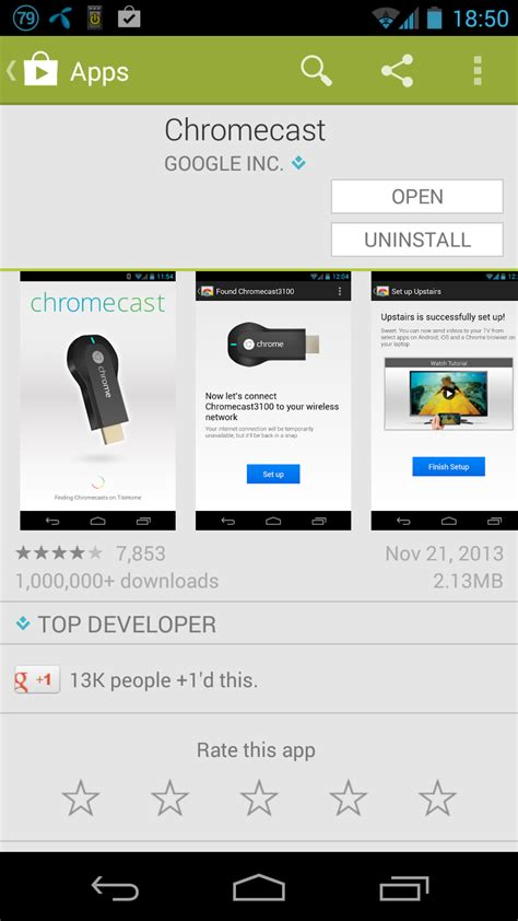 chromecast android review chromecast unbox installation