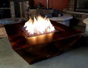 Lp Outdoor Fire Pit - parallax contemporary gas fire pit