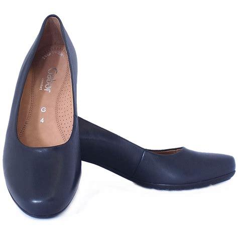 comfortable low heel pumps gabor brambling formal comfortable low heel navy pumps