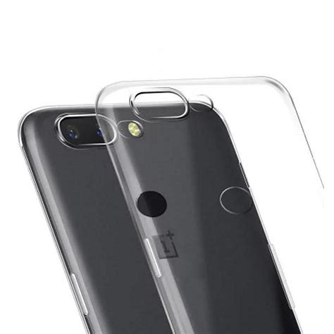 transparent oneplus 5t soft silicon back cover high