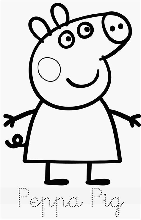 28 How To Draw George 1 Peppa Pig