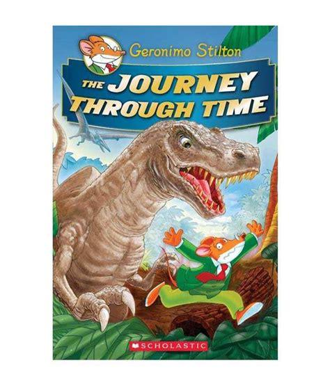 no time to lose geronimo stilton journey through time 5 books the journey through time paperback buy the
