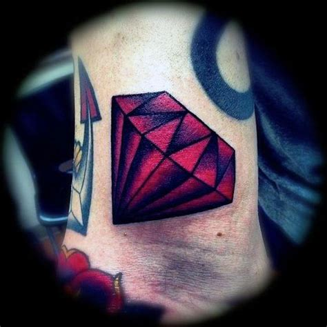 tattoo red diamond 50 traditional diamond tattoo designs for men jewel ink