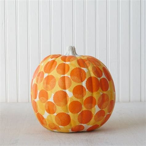 Decoupage Pumpkins - the world s catalog of ideas