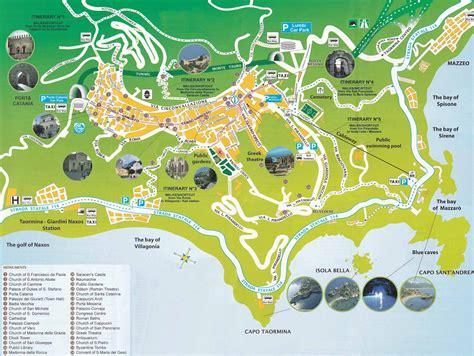 mappa giardini naxos taormina paese storico tra mare e natura