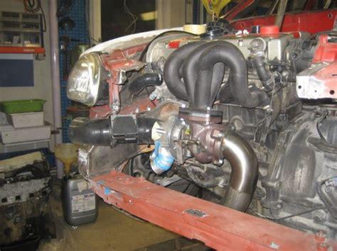 Turbo Plumbing by Awd Turbo Opel Corsa Part 2 Automodified