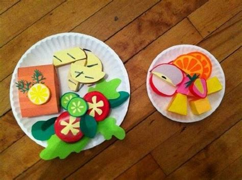 Paper Food Crafts For Site About Children